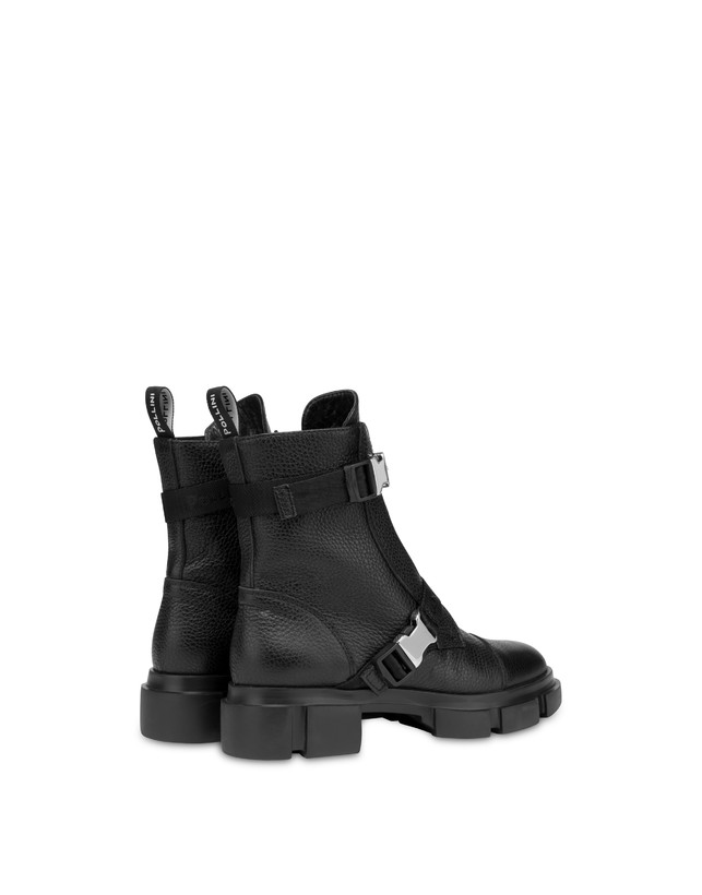 Snow calfskin ankle boots Photo 3
