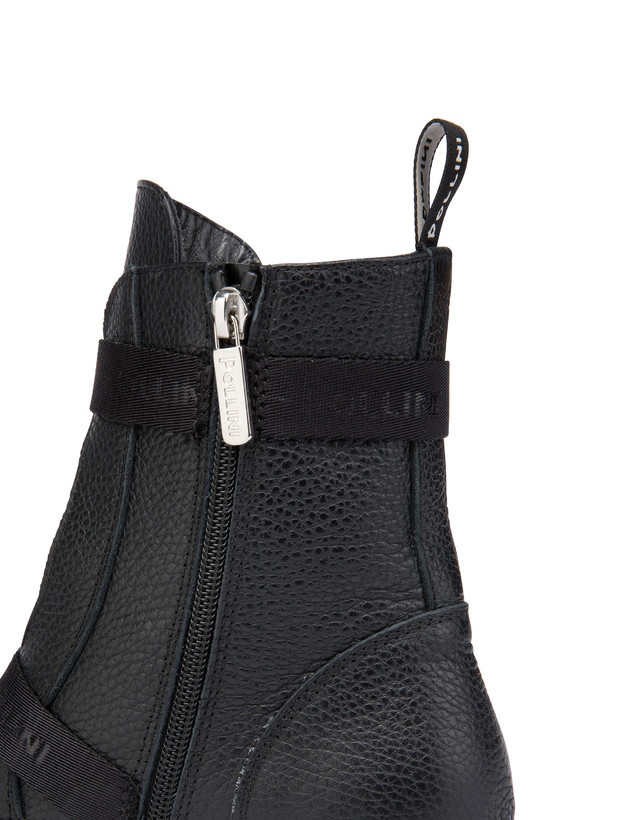 Snow calfskin ankle boots Photo 4