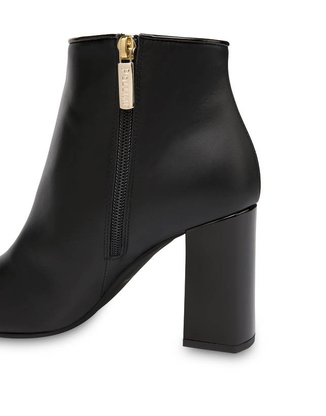 Twin P calfskin ankle boots Photo 4