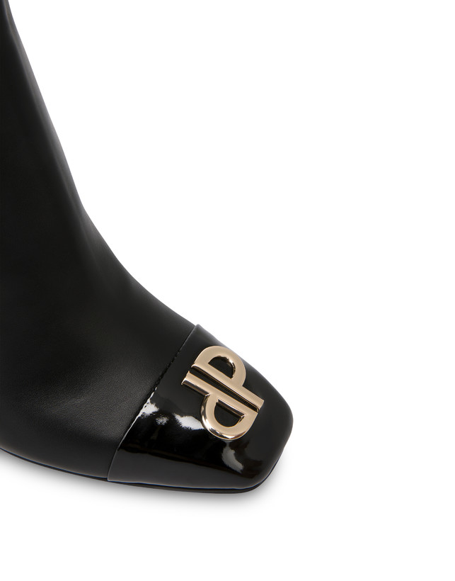Twin P calfskin ankle boots Photo 5