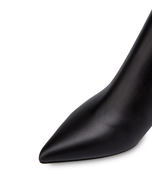 Annabelle calfskin ankle boots Photo 4