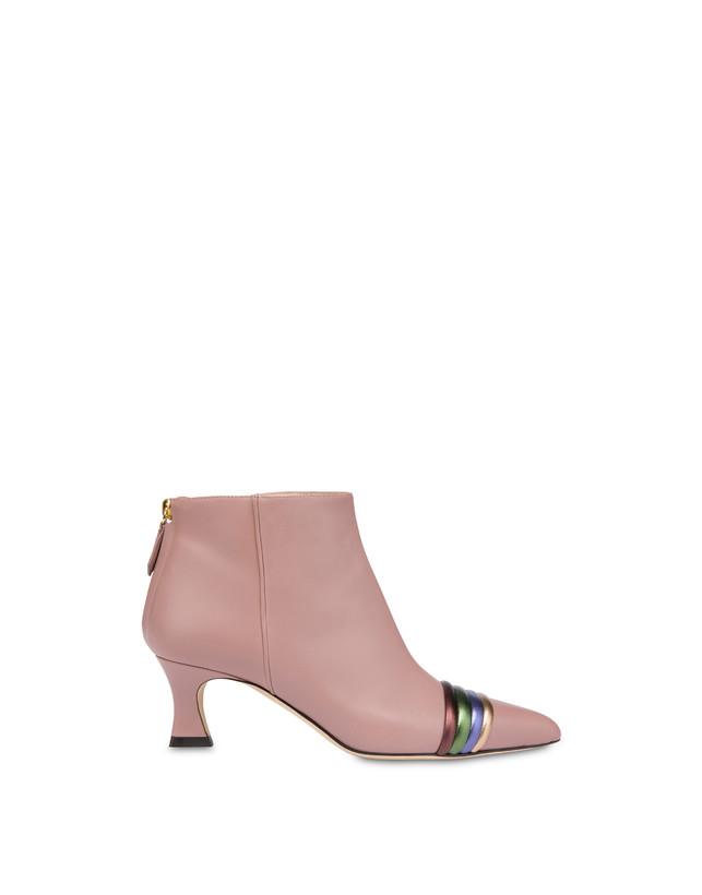 Rainbow calfskin ankle boots Photo 1