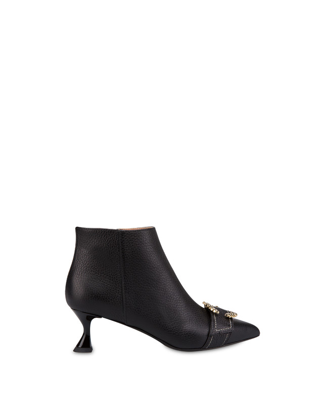 Breakfast At Tiffany's calfskin ankle boots Photo 1