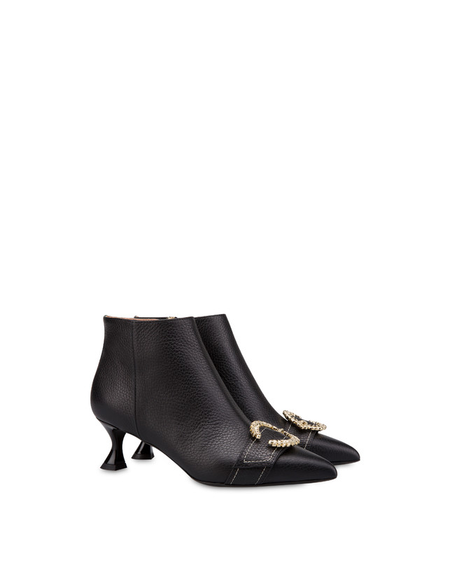 Breakfast At Tiffany's calfskin ankle boots Photo 2