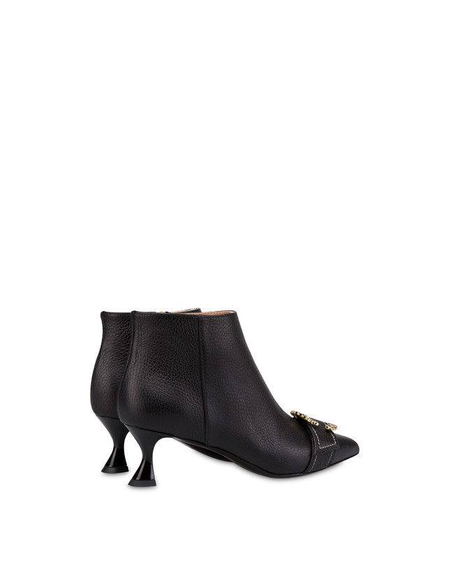 Breakfast At Tiffany's calfskin ankle boots Photo 3