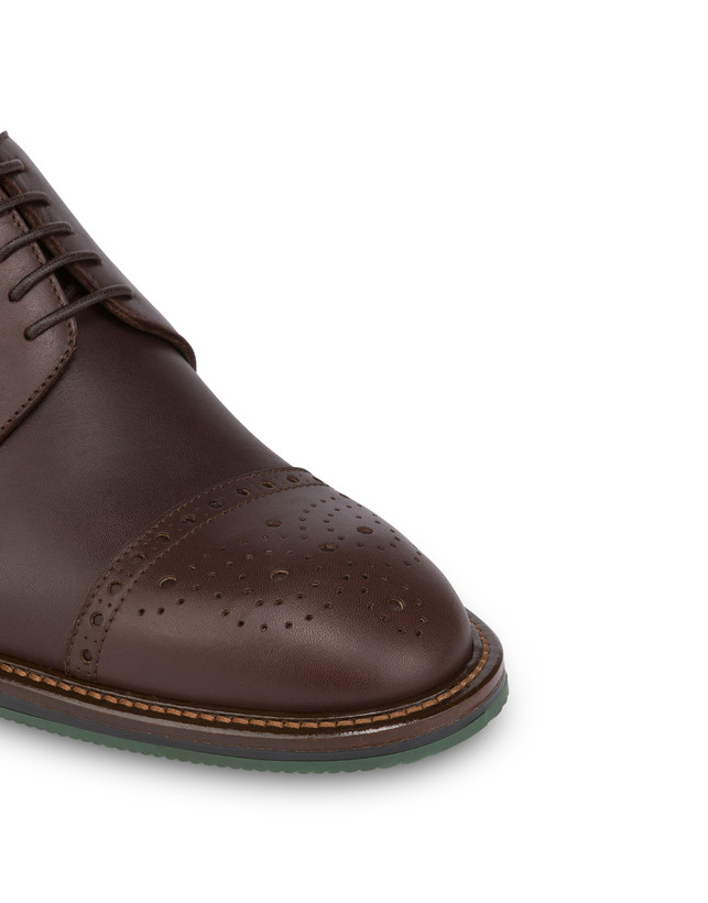 Dandy derby in calfskin Photo 5