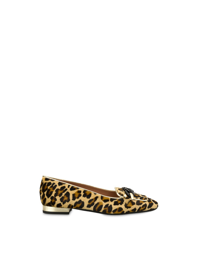Sunkissed spotted pony skin ballet flats Photo 1