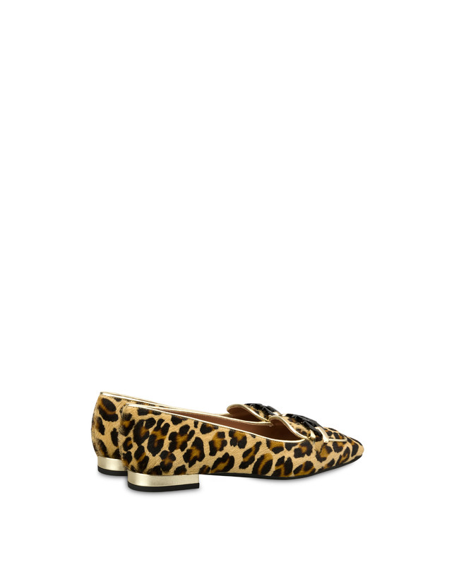 Sunkissed spotted pony skin ballet flats Photo 3