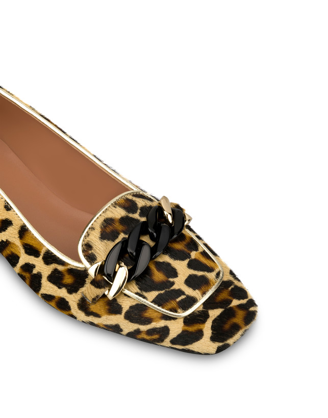 Sunkissed spotted pony skin ballet flats Photo 4