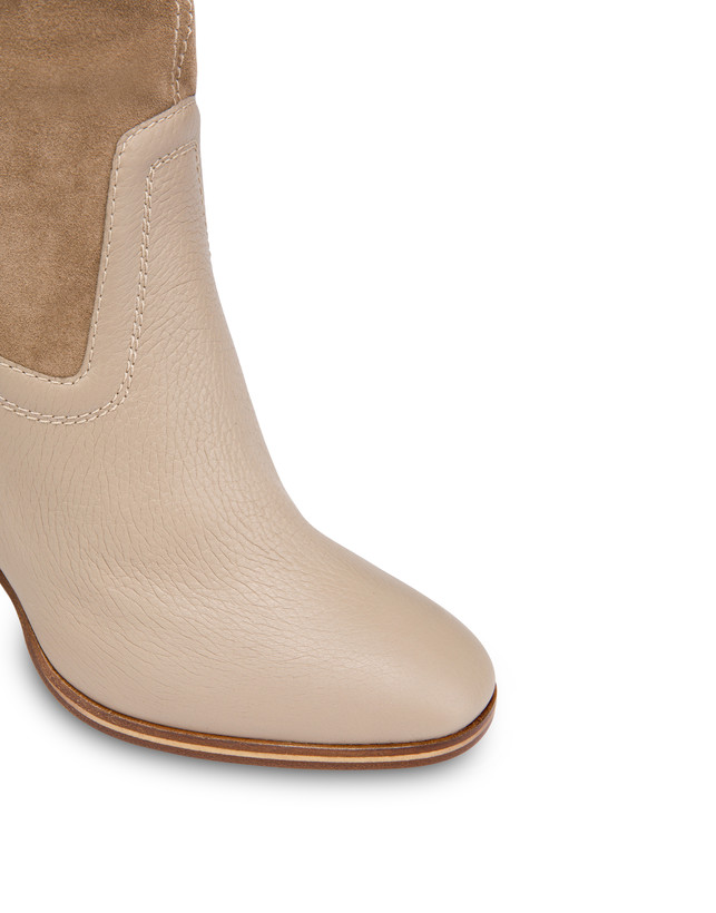High boots in suede and Cabiria Buckle calfskin Photo 4