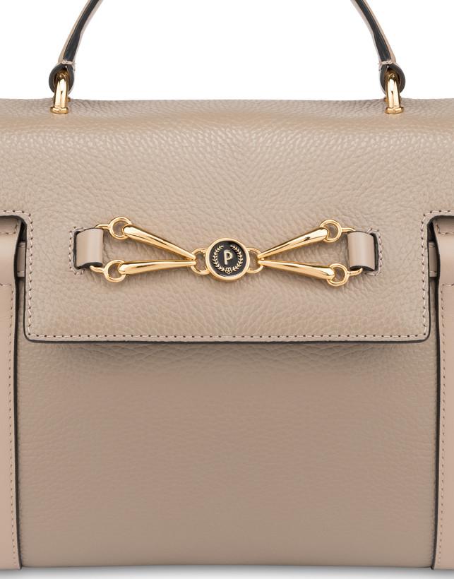 Giulietta Clamp tumbled calfskin handbag Photo 6
