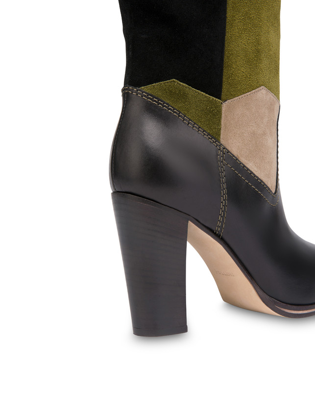 Majolica suede boots Photo 4