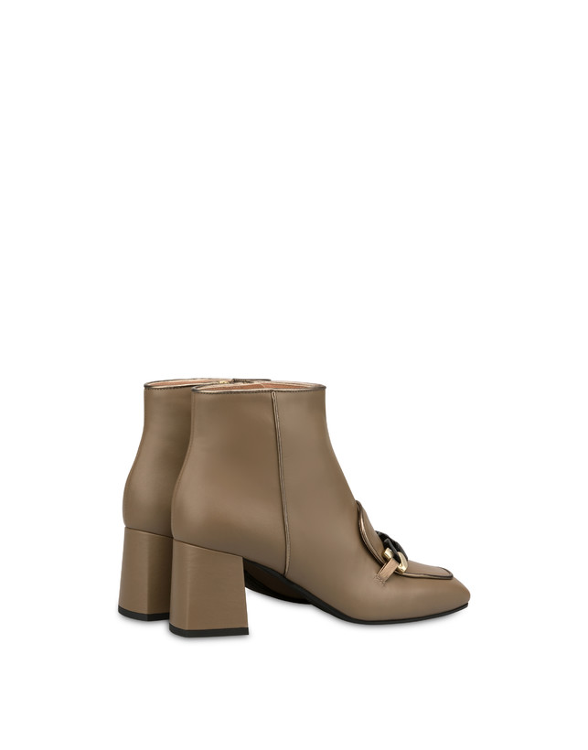 Sunkissed calfskin ankle boots Photo 3
