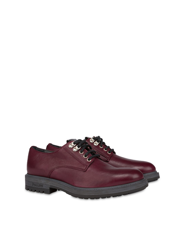 Climber derby in split leather and kidskin Photo 2
