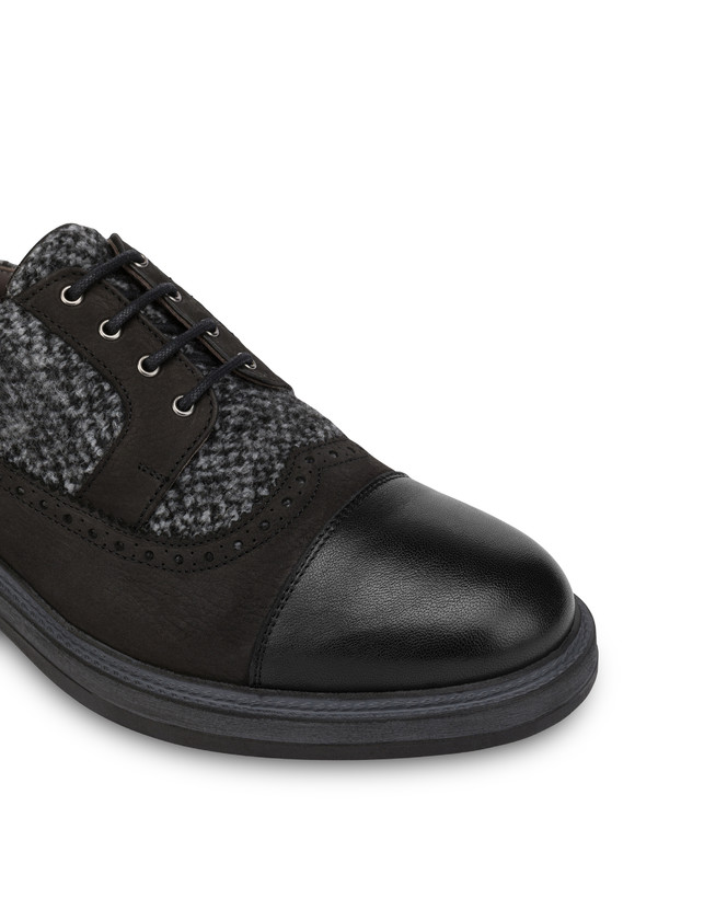 Derby in fabric, nubuck and kidskin Photo 6