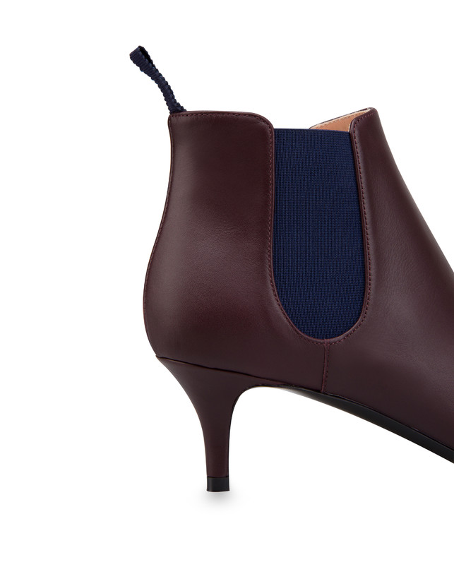 Annabelle calfskin ankle boots Photo 5
