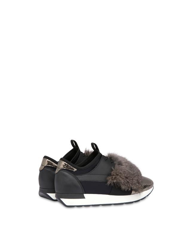 Sneakers slip-on Fur Elastic Run Photo 3
