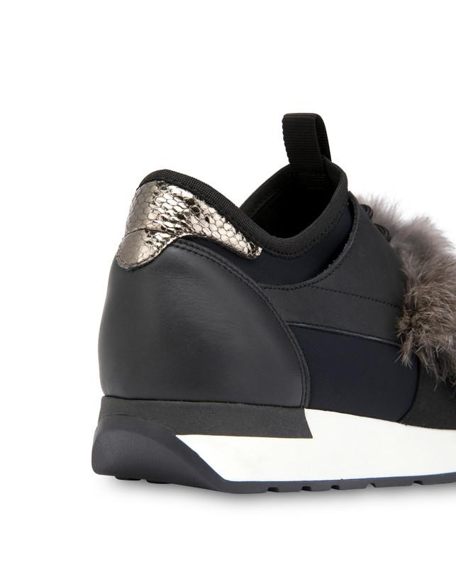 Sneakers slip-on Fur Elastic Run Photo 5