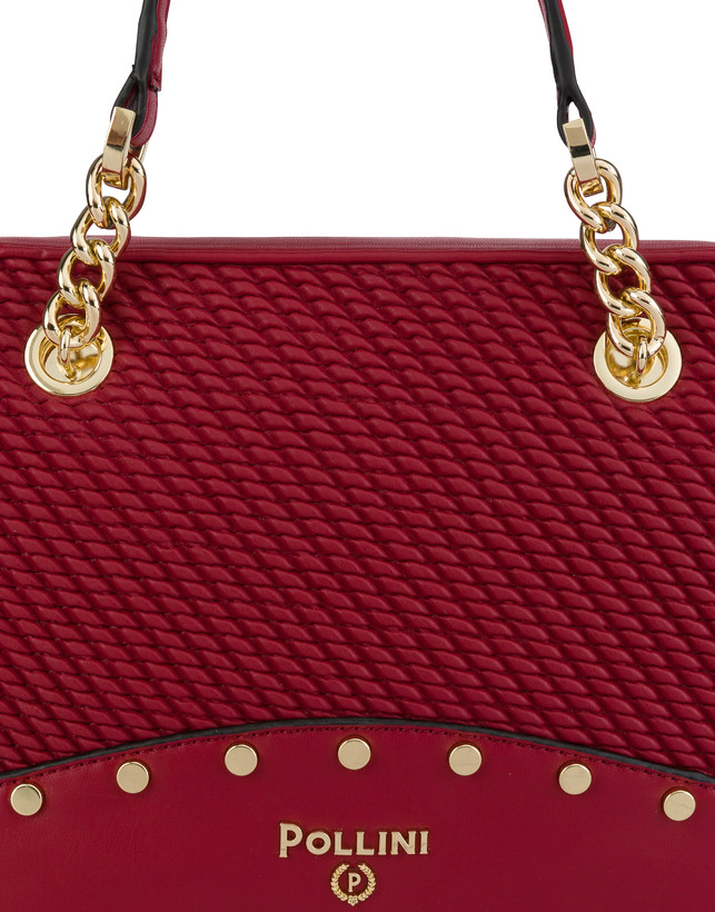 Dolly embossed double handle bag Photo 5