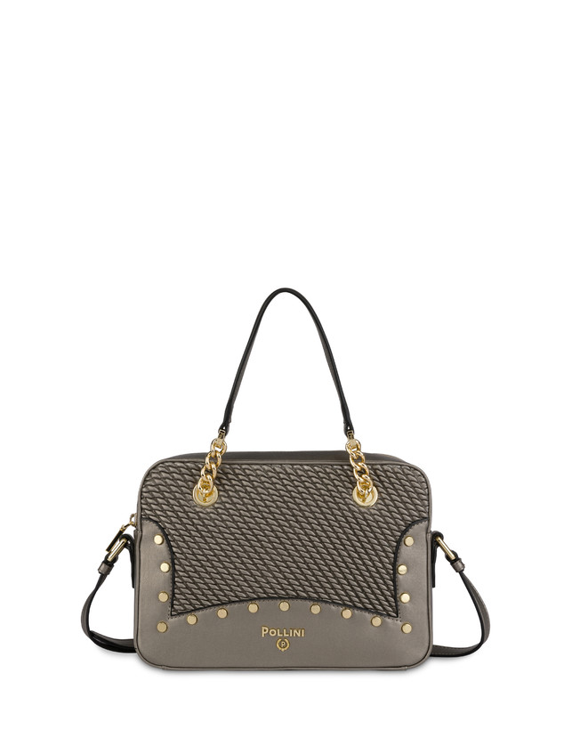 Dolly embossed double handle bag Photo 1