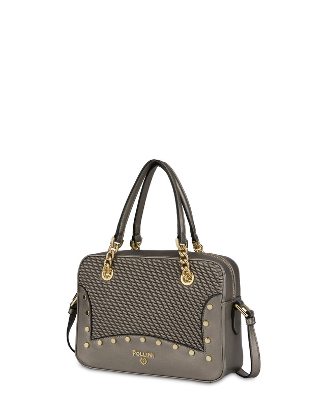 Dolly embossed double handle bag Photo 2