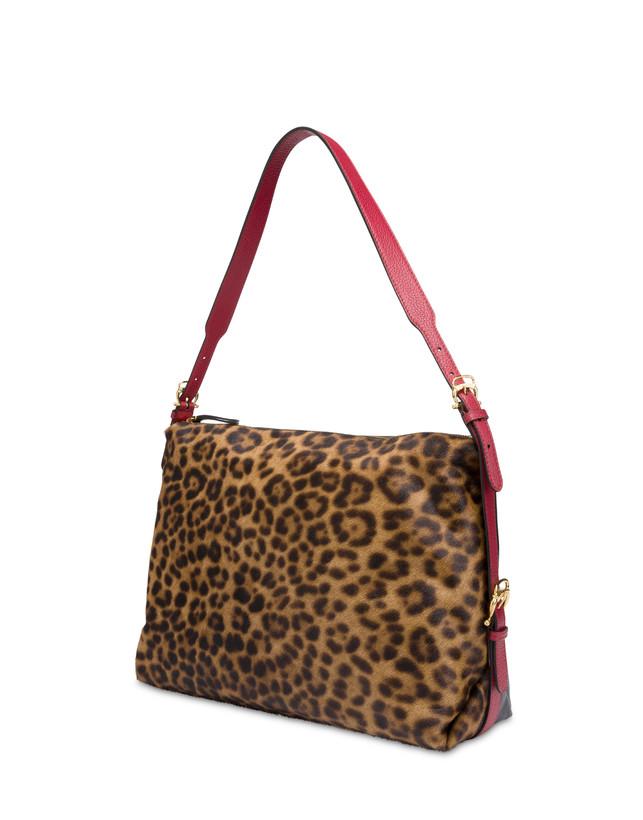 Borsa hobo in cavallino leopard Photo 2