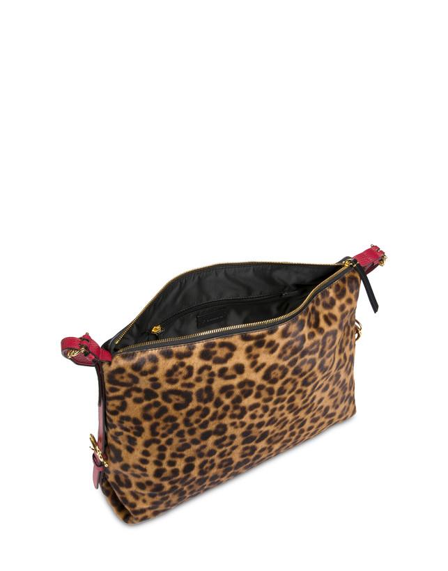 Borsa hobo in cavallino leopard Photo 4