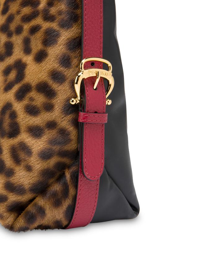 Borsa hobo in cavallino leopard Photo 5
