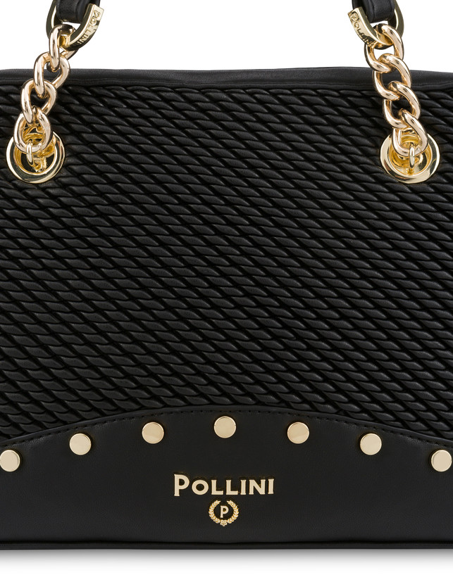 Dolly embossed double handle bag Photo 6