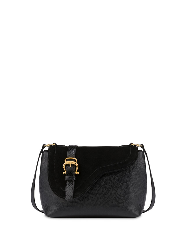Buckle Notes calfskin shoulder bag Photo 1
