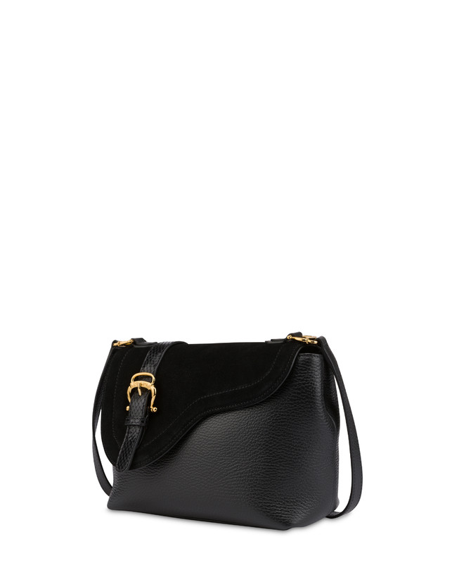 Buckle Notes calfskin shoulder bag Photo 2