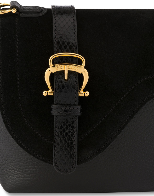 Buckle Notes calfskin shoulder bag Photo 6