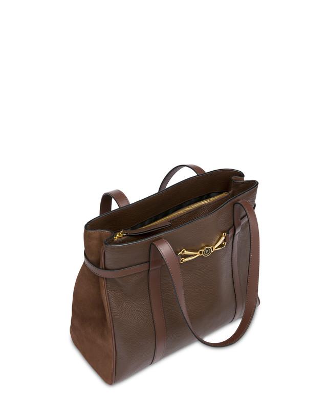 Giulietta Clamp tumbled calfskin shopping bag Photo 4