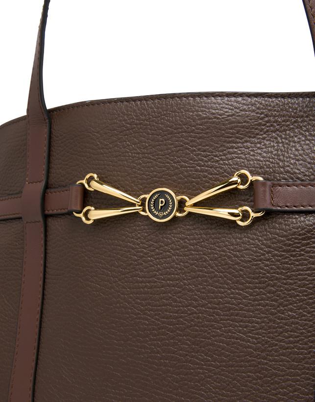 Giulietta Clamp tumbled calfskin shopping bag Photo 5