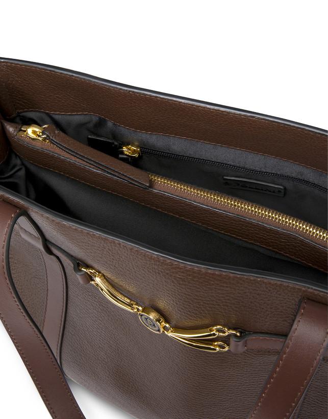 Giulietta Clamp tumbled calfskin shopping bag Photo 6