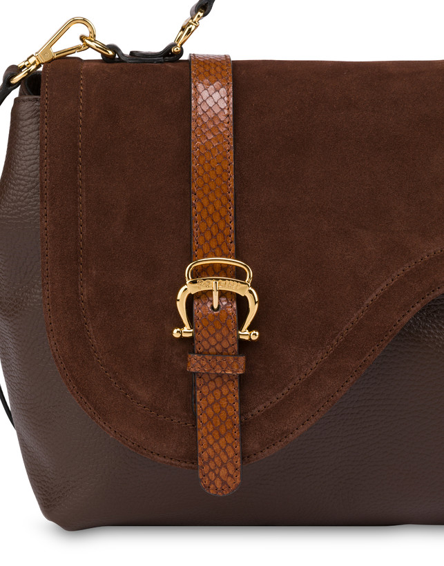 Buckle Notes calfskin handbag Photo 6