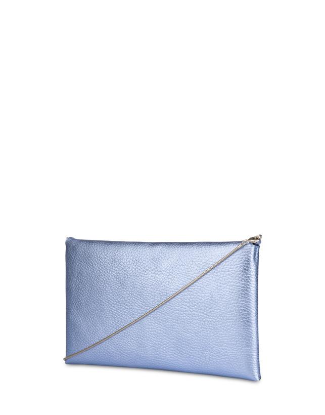 Mail clutchbag in laminated tumbled calfskin Photo 3