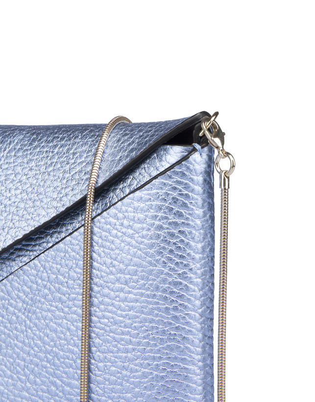 Mail clutchbag in laminated tumbled calfskin Photo 6