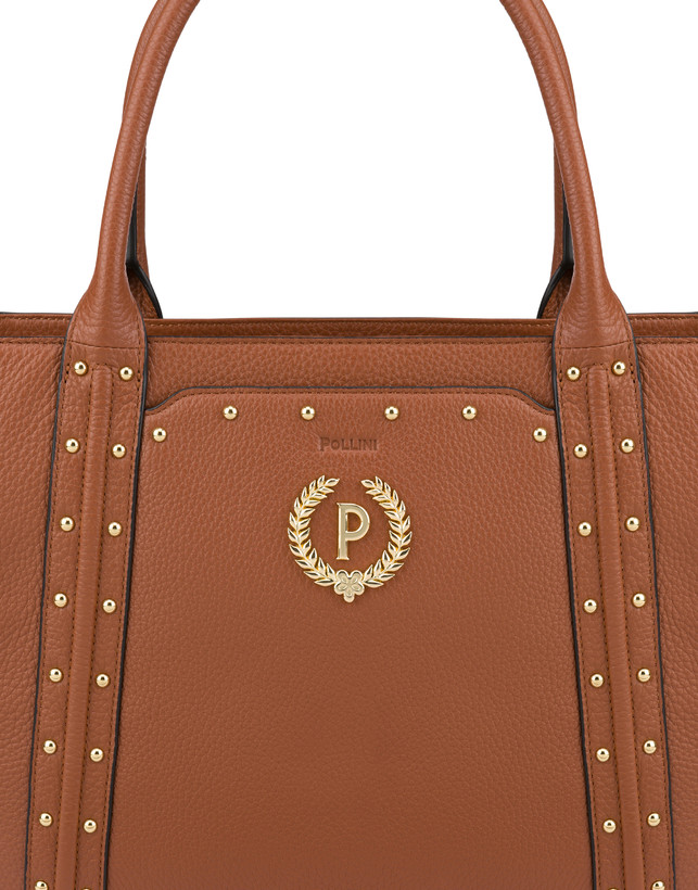 Double handle bag in Odette calfskin Photo 6