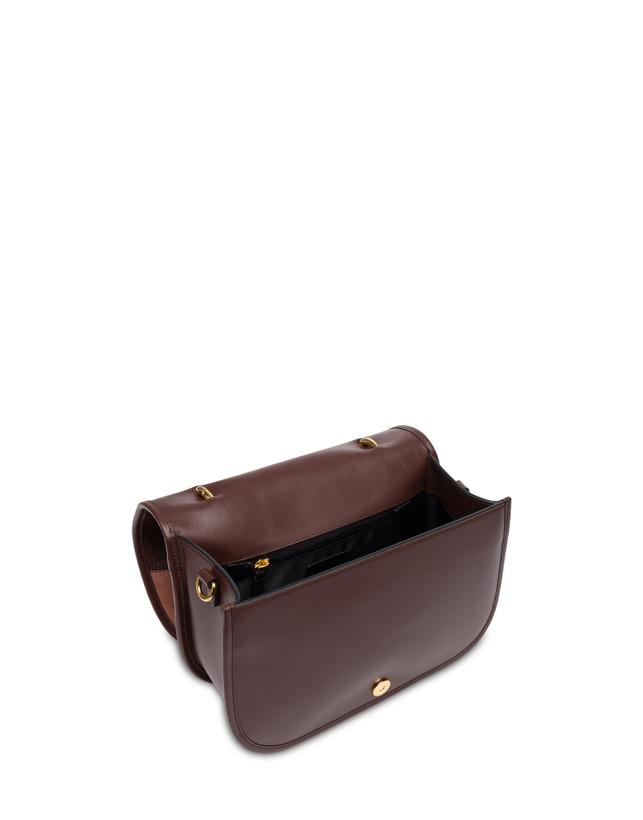 Patchwork handbag in suede and Cabiria Buckle calfskin Photo 4