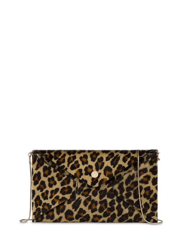 Pochette Mail in cavallino leopard Photo 1