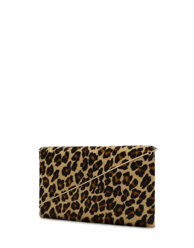 Pochette Mail in cavallino leopard Photo 3