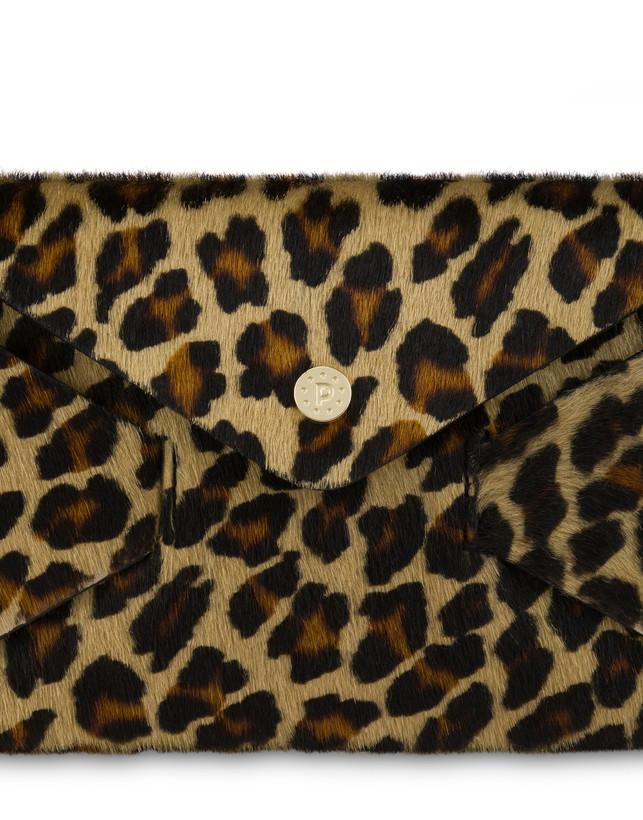 Pochette Mail in cavallino leopard Photo 5