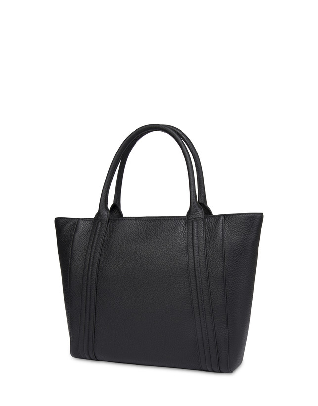 Double handle bag in Odette calfskin Photo 3