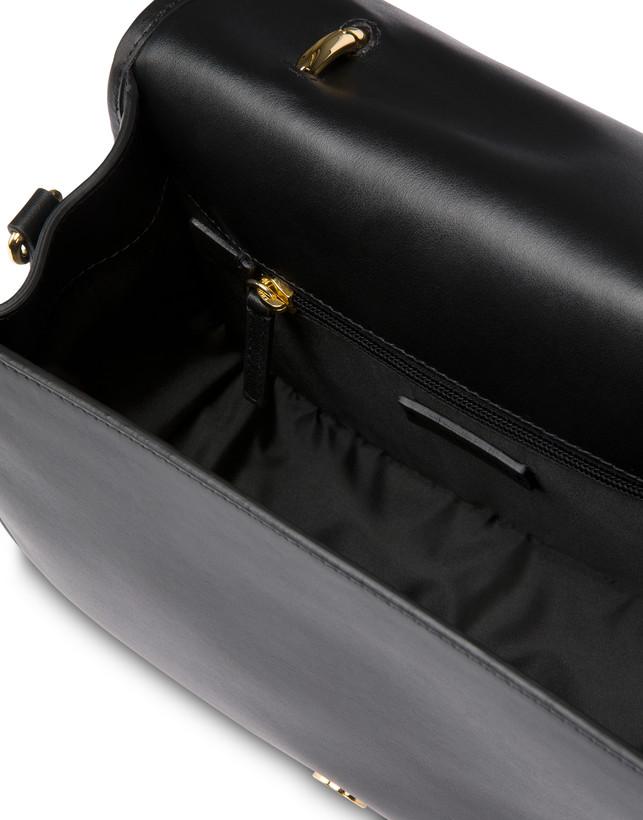 Patchwork handbag in suede and Cabiria Buckle calfskin Photo 6