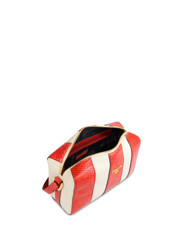 Stripe On Me canvas shoulder bag Photo 4