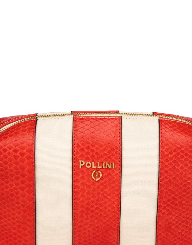 Stripe On Me canvas shoulder bag Photo 5