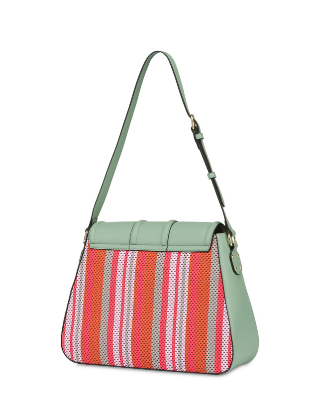 Jackie O' striped shoulder bag Photo 3