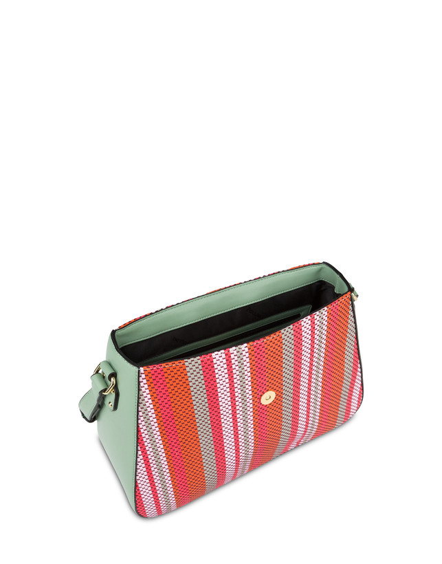 Jackie O' striped shoulder bag Photo 4