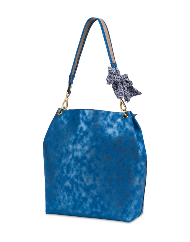 Darlene Chic laminated suede hobo bag Photo 3